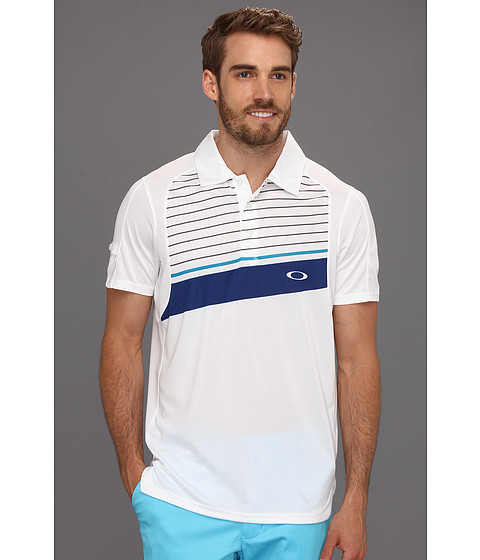 Tricouri Oakley - Cool Down Polo Shirt - White