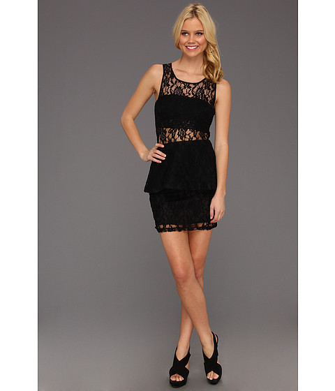 Rochii Type Z - Kelby Lace Dress - Black