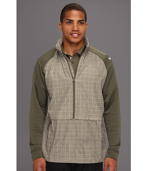 Bluze Nike - Sport Fabric-Mix Hoodie - Tarp Green