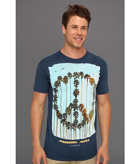 Tricouri Billabong - Paradise Sux Peace Palms Tee - Vintage Blue