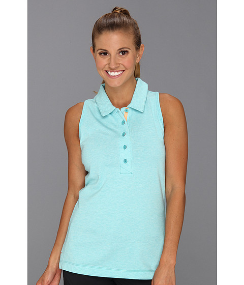 Bluze Nike - Sport Racerback Polo - Sport Turquoise Heather