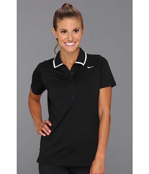 Tricouri Nike - Swoosh Tech Polo - Black
