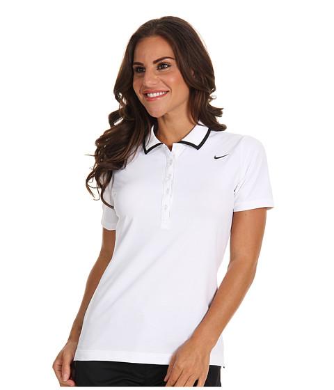 Tricouri Nike - Swoosh Tech Polo - White