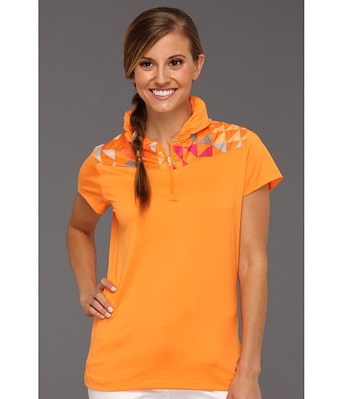 Tricouri Nike - Convert Collar Top - Orange Horizon