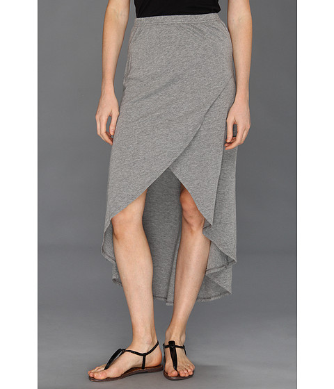 Pantaloni Vans - Hysteria High-Low Skirt - Grey Heather