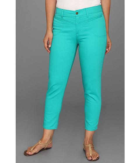 Pantaloni Caribbean Joe - Yoke Front Capri w/Welt - Phyto Green