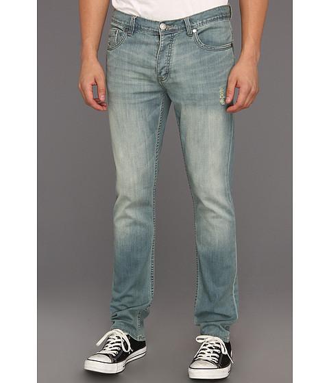 Pantaloni Calvin Klein - Rocker Slim Straight Jean in Foggy Blue - Foggy Blue