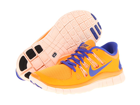 Adidasi Nike - Free 5.0+ - Bright Citrus/Barely Orange/Violet Force