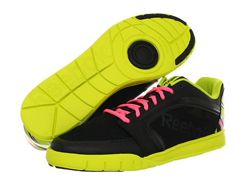 Adidasi Reebok - Dance UrLead - Black/White/Solar Green/Pink Zing
