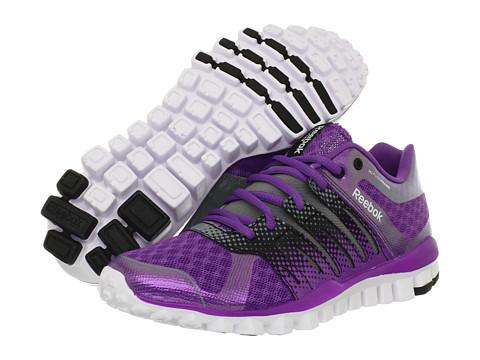 Adidasi Reebok - RealFlex Strength TR - Party Purple/Black/Tin Grey/White