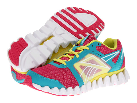 Adidasi Reebok - ZigQuick Fire - Cosmic Berry/Solid Teal/Solar Green/Pure Silver/White