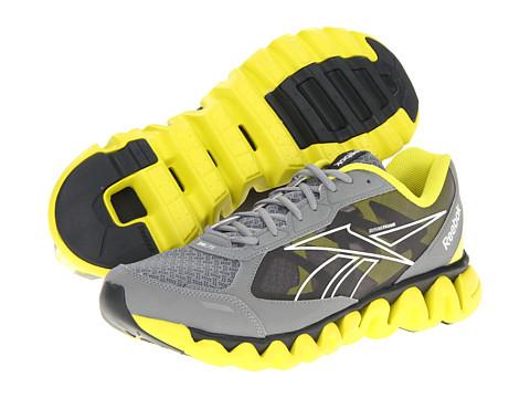 Adidasi Reebok - ZigLite Rush - Athletic/Nubuck/Gravel/White/Flat Grey/Solar Green