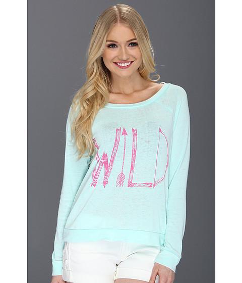 Tricouri Billabong - Wild And Fun L/S Pullover Top - Mo-Mint