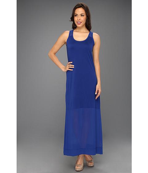 Rochii DKNY - Sleeveless Dress w/ Chiffon -  Blueprint