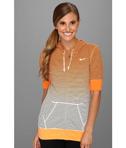 Bluze Nike - Dipped Stripe Hoody - Bright Citrus/Sail