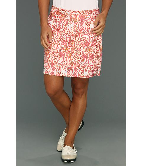 Pantaloni adidas - Contrast Blooming Tribal Printed Skort \13 - White/Bubblegum/Sunset/Punch