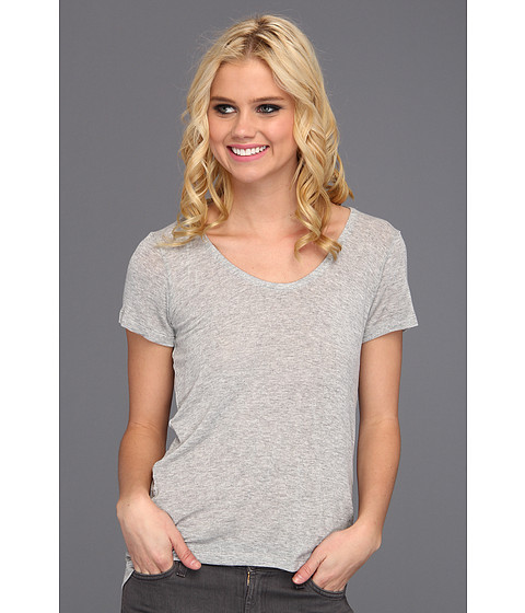 Bluze Splendid - Boyfriend Tee - Heather Grey