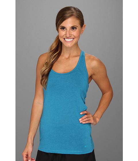 Tricouri Nike - Flow Tank - Neo Turquoise Heather/Neo Turquoise