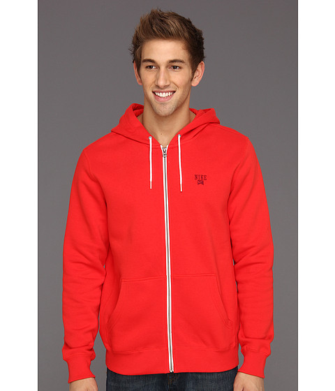 Bluze Nike - Lightweight Northrup Icon Full-Zip Hoodie - Pimento/Team Red
