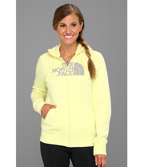 Bluze The North Face - Half Dome Full-Zip Hoodie - Chiffon Yellow/Metallic Silver