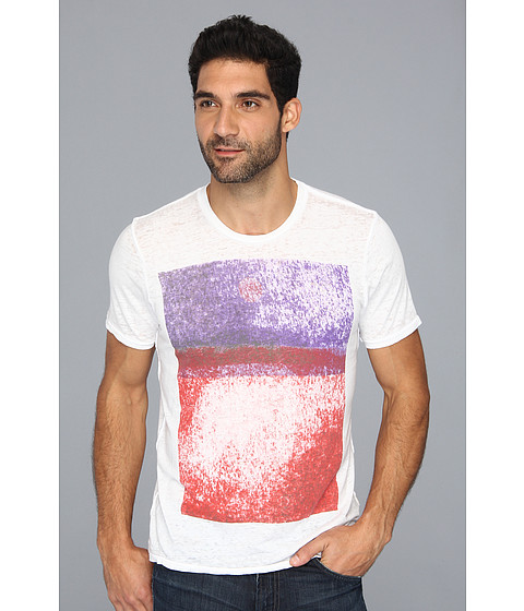 Tricouri 7 For All Mankind - Sunset Tee - Passion Red