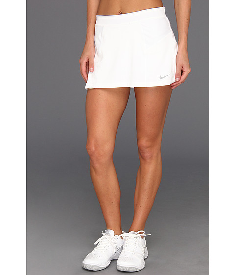 Fuste Nike - Novelty Knit Skirt - White/Matte Silver