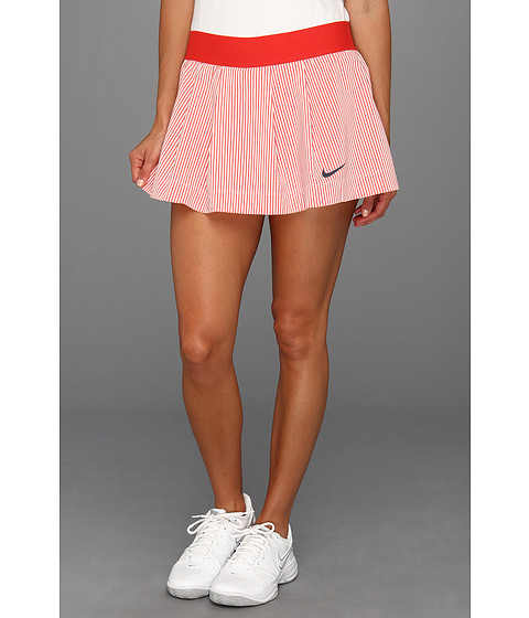 Fuste Nike - Ruffled Woven Skirt - Sunburst/White/Thunder Blue