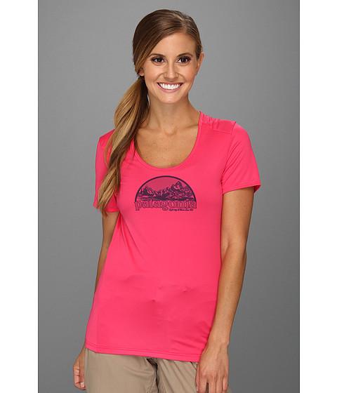 Tricouri Patagonia - Capileneî 1 Silkweight Graphic T-Shirt - Rossi Pink