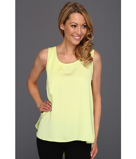 Bluze Kenneth Cole - Verda Sleeveless Ruffle Top - Starfruit