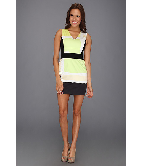 Rochii Kenneth Cole - Marci - Cabbage Green Combo