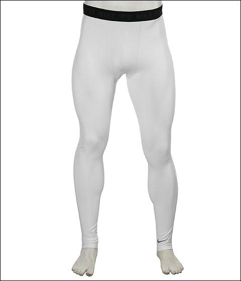Pantaloni Nike - Pro-Core Extreme Tight - White/(Medium Grey)
