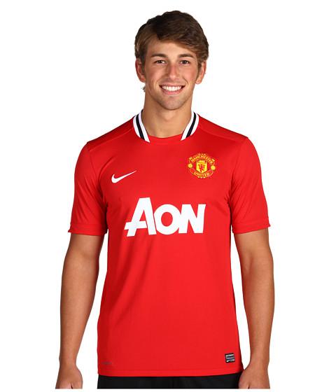 Tricouri Nike - Manu S/S Home Replica Jersey - Diablo Red/Football White/Black/Football White