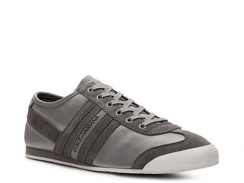 Adidasi D&G - Suede & Nylon Sneaker - Grey