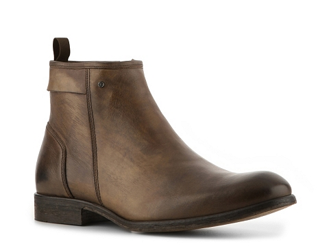 Ghete Just Cavalli - Vintage Leather Boot - Burnished Brown