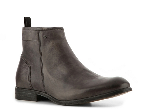Ghete Just Cavalli - Vintage Leather Boot - Burnished Grey