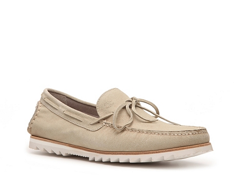 Pantofi Just Cavalli - Suede Boat Shoe - Taupe