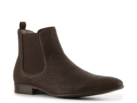Ghete Just Cavalli - Reptile Leather Boot - Chocolate Brown