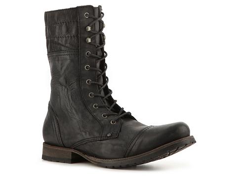 Ghete Just Cavalli - Vintage Leather Boot - Black