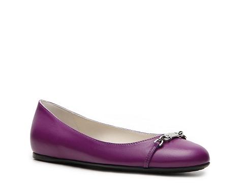 Balerini Gucci - Leather Horsebit Flat - Purple