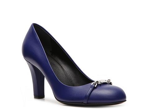 Pantofi Gucci - Leather Horsebit Pump - Electric Blue