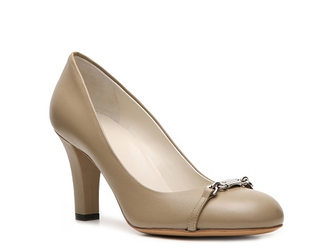 Pantofi Gucci - Leather Horsebit Pump - Light Taupe