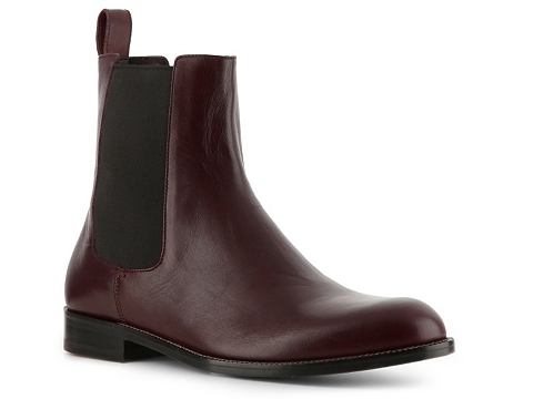 Pantofi Gucci - Leather Boot - Burgundy