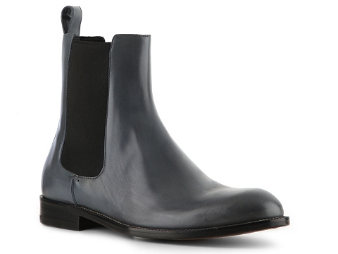 Ghete Gucci - Leather Boot - Burnished Dusty Blue