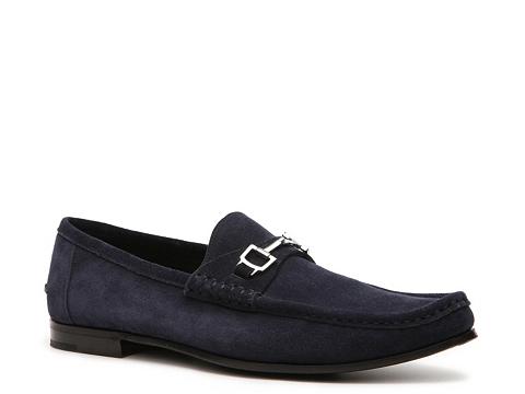 Pantofi Gucci - Nubuck Horsebit Loafer - Teal Blue