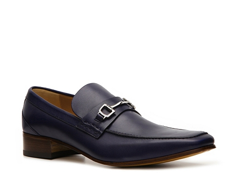 Pantofi Gucci - Leather Horsebit Loafer - Dark Blue