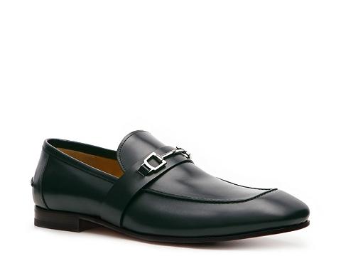 Pantofi Gucci - Leather Horsebit Loafer - Dark Teal