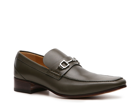 Pantofi Gucci - Leather Horsebit Loafer - Army Green