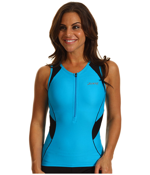 Tricouri Zoot Sports - Performance Tri Tank - Atomic Blue/Black