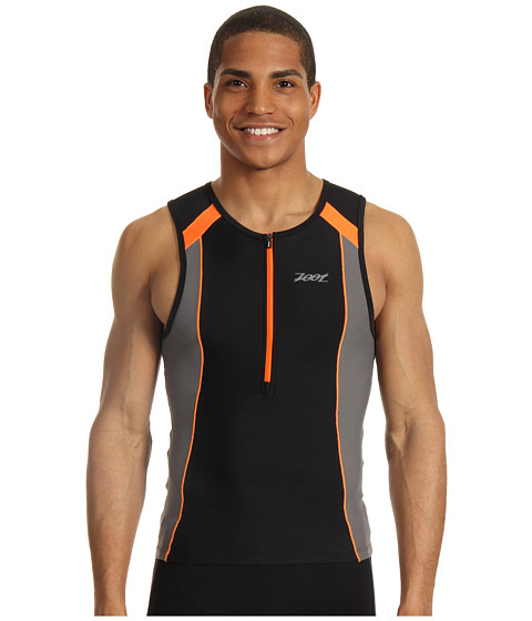 Tricouri Zoot Sports - Performance Tri Tank - Black/Blaze
