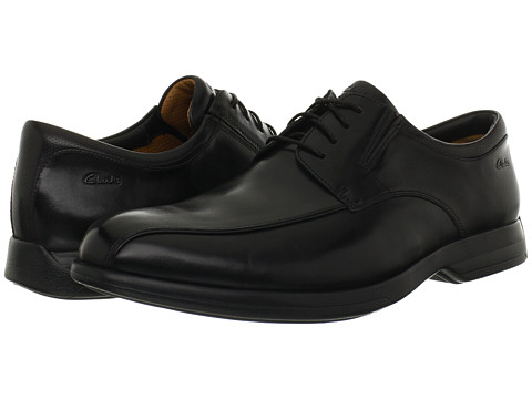 Pantofi Clarks - General Over - Black Leather